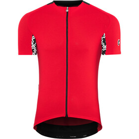 assos Mille GT Fietsshirt korte mouwen Heren, national red